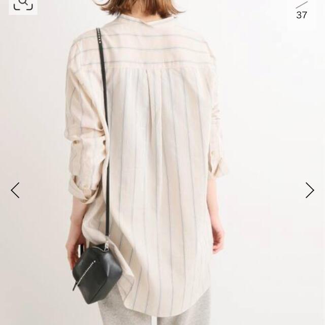 IENA(イエナ)のIENA キュプラコットンドビーストライプシャツ レディースのトップス(シャツ/ブラウス(長袖/七分))の商品写真