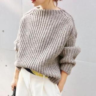 IENA - イエナ chere british wool ニット