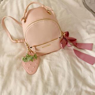 Maison de FLEUR - Maison de FLEUR 量産型 リュック ピンク パスケース付き