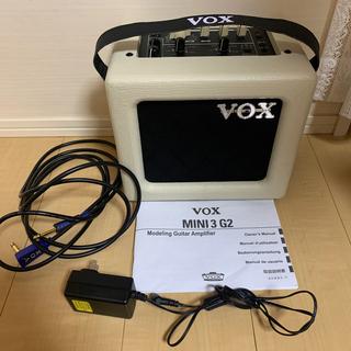 ヴォックス(VOX)のギターアンプVOX MINI3 G2ギター アンプguitar ヴォックス(ギターアンプ)