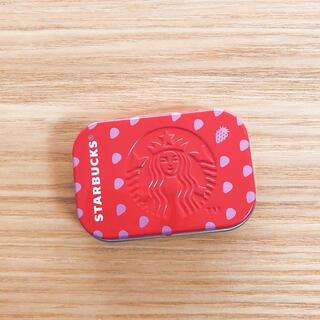 Starbucks Coffee - スターバックス アフターコーヒーミント ストロベリー イチゴ 小物入れ ケース
