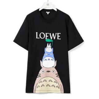 LOEWE - LOEWEロエベ 紗栄子さん着用 となりのトトロ ブラックTシャツ S