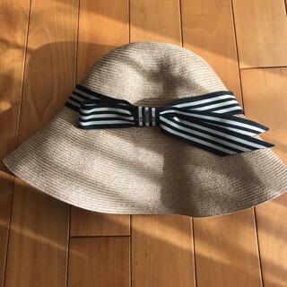 ヴィヴィアンウエストウッド(Vivienne Westwood)のスー様専用  ヴィヴィアンウェッジ 帽子(麦わら帽子/ストローハット)