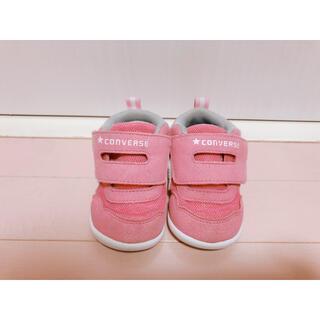 CONVERSE - converse ベビー*キッズ シューズ 13cm ピンク