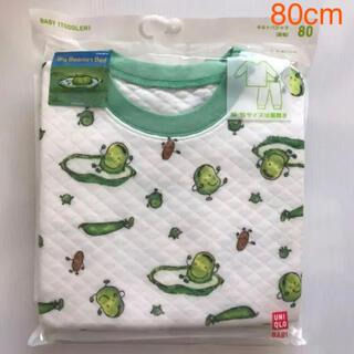 UNIQLO - 新品☆ ユニクロ UNIQLO パジャマ そらまめくんのベッド(80cm)