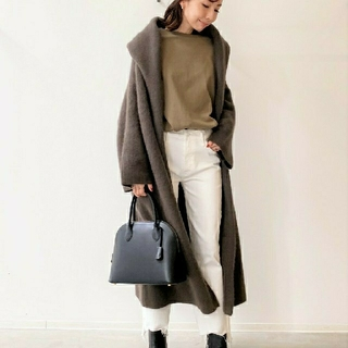 L'Appartement DEUXIEME CLASSE - 新品タグ付【HAVEL studio】RACCON KNIT COAT