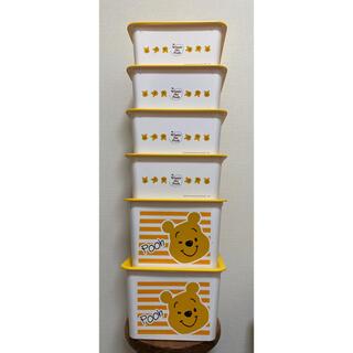 クマノプーサン(くまのプーさん)の【ディズニー】プーさん収納ボックス 8個セット(収納/チェスト)
