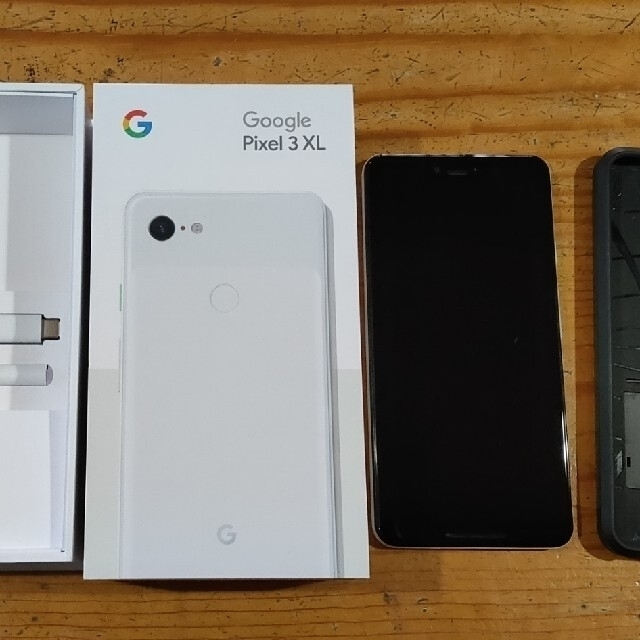 Google Pixel(グーグルピクセル)のGoogle Pixel3XL 128gb ホワイト SIMフリー スマホ/家電/カメラのスマートフォン/携帯電話(スマートフォン本体)の商品写真