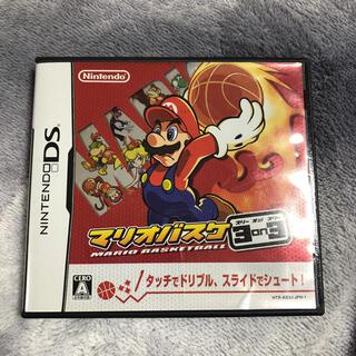 ニンテンドウ(任天堂)のマリオバスケ 3on3 DS(携帯用ゲームソフト)