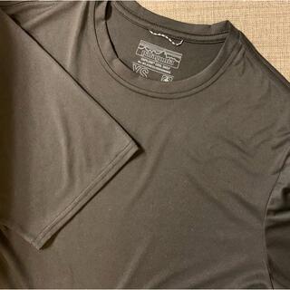 パタゴニア(patagonia)のパタゴニア メンズ キャプリーンクールデイリー 黒 XS(Tシャツ/カットソー(半袖/袖なし))