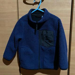 ユニクロ(UNIQLO)のユニクロ キッズ 防風ボアフリースジャケット(ジャケット/上着)
