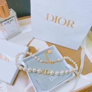 Dior - DIOR パールネックレス チョーカー