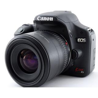 Canon - Wi-Fi付き♪☆初心者さん最適一眼レフ☆ CANON キャノン Kiss X3
