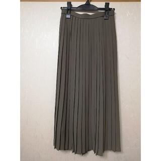 ユニクロ(UNIQLO)の★新品タグ付★UNIQLO/シフォンプリーツロングスカート(ロングスカート)