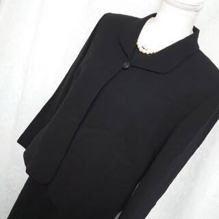 美品Powal Holon 喪服 礼服 ブラックフォーマル セットアップ 13号