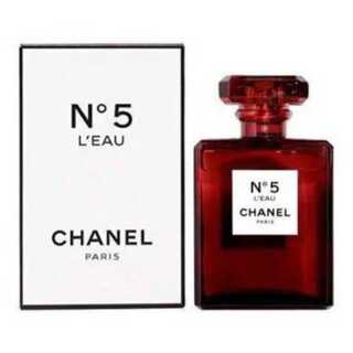 新品 CHANEL N°5 L`EAU レッドエディション 香水(香水(女性用))