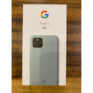 Google Pixel - 【新品未使用品】Google pixel5 5G 128GB ブラック