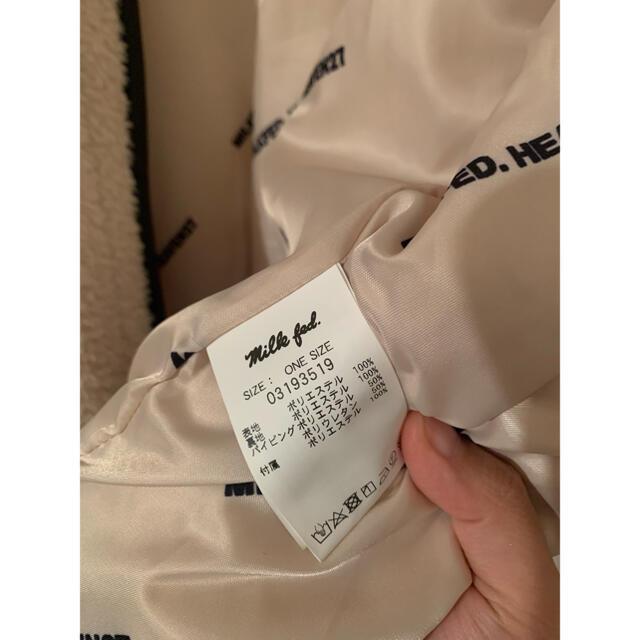 MILKFED.(ミルクフェド)のMILKFED.  ボアアウター レディースのジャケット/アウター(ブルゾン)の商品写真
