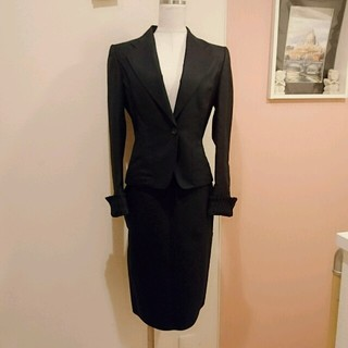 グッチ(Gucci)のGUCCI♡ウールスカートスーツ(スーツ)