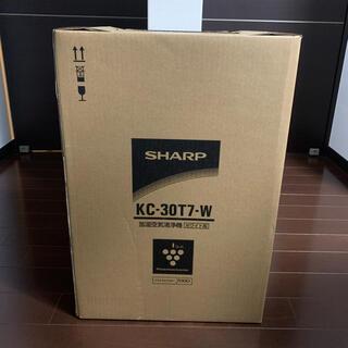 SHARP - 【新品未開封】SHARP 加湿空気清浄機 KC-30T7-W