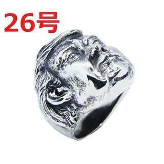 アメリカン アクセ 記念品 トランプ 大統領 シルバー リング 指輪 26号(リング(指輪))