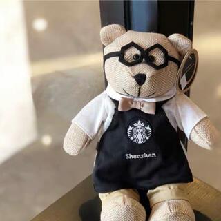 スターバックスコーヒー(Starbucks Coffee)のミニーちゃん様 ご確認用 中国スターバックスリザーブ特定店舗限定ベアリスタ(ぬいぐるみ)