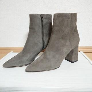 ペリーコ(PELLICO)のペリーコ PELLICO サイドジップ スエードショートブーツ(ブーツ)