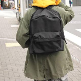 ポーター(PORTER)のMIN-NANO PORTER backpack BLACK(バッグパック/リュック)