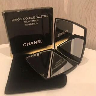 シャネル(CHANEL)のプレゼントにも。新品箱入り ミロワールドゥーブルファセット シャネル ミラー(ミラー)