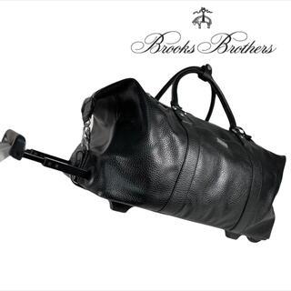 ブルックスブラザース(Brooks Brothers)の超美品 Brooks Brothers ボストン キャリーケース レザー(ボストンバッグ)