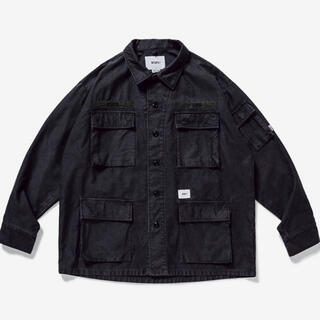W)taps - wtaps JUNGLE LS 01 SHIRT COTTON SATIN