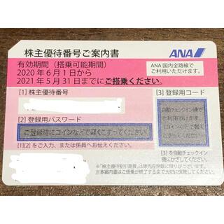 エーエヌエー(ゼンニッポンクウユ)(ANA(全日本空輸))の株主優待券ANA(全日空)(航空券)