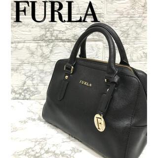 Furla - フルラ   FURLA  ハンドバッグ トートバッグ 黒 ブランド チャーム