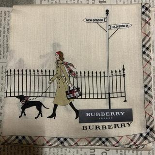バーバリー(BURBERRY)のバーバリー ハンカチ女の子A(ハンカチ)