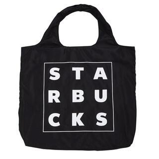 スターバックスコーヒー(Starbucks Coffee)の★新作 台湾限定 スターバックス エコバッグ ブラック 黒 男女兼用(エコバッグ)