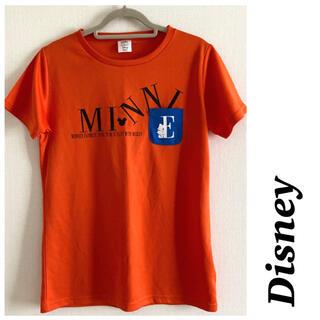 Disney - 【美品】Disney♡ディズニー ドライTシャツ フロント胸ポケット付き