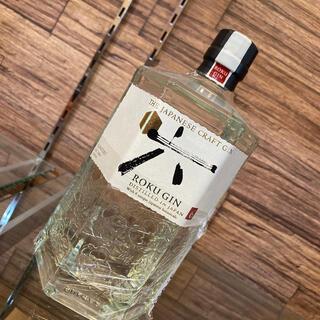 サントリー(サントリー)のサントリー ROKU GIN 六 700ml(蒸留酒/スピリッツ)