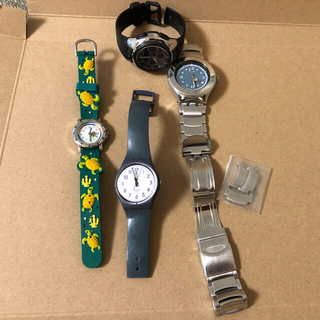 スウォッチ(swatch)のスウォッチ カシオ他 腕時計 4個(腕時計(アナログ))