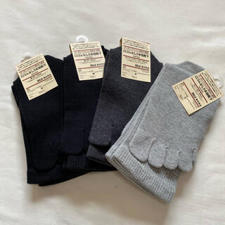 MUJI (無印良品) - まとめ売り 無印良品 5本指靴下