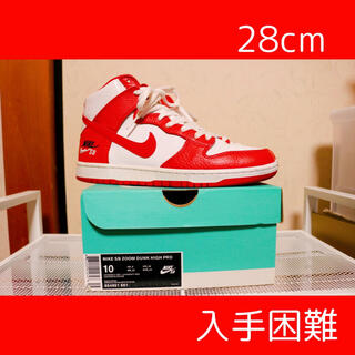 NIKE - <入手困難>Nike SB Dunk High Future Court Red