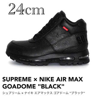 シュプリーム(Supreme)のSupreme Nike Air Max Goadome Black 24cm(スニーカー)