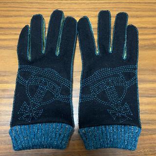 ヴィヴィアンウエストウッド(Vivienne Westwood)のヴィヴィアンウエストウッド 手袋 黒(手袋)