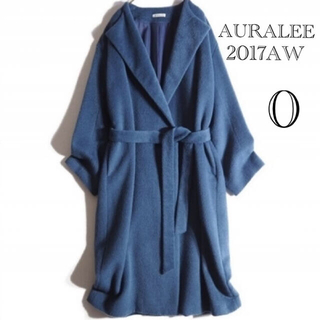 COMOLI - AURALEE オーラリー BABY ALPACA NO COLLAR COAT