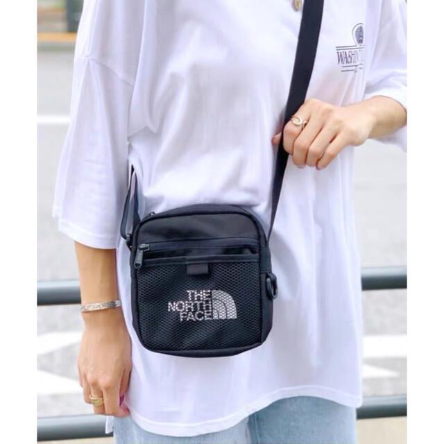 THE NORTH FACE(ザノースフェイス)の新品☆ ノースフェイス ショルダーバッグ メッシュクロスバッグ サコッシュ 黒  メンズのバッグ(ショルダーバッグ)の商品写真
