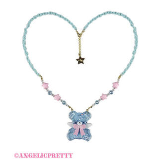 Angelic Pretty - Angelic Pretty Milkyベアネックレス
