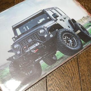 ジープ(Jeep)のJeep ラングラー ブリキ看板(車外アクセサリ)