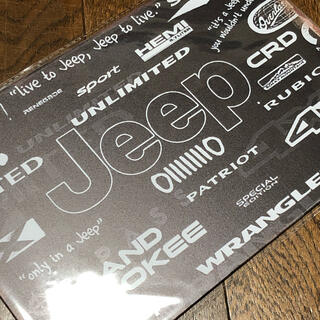 ジープ(Jeep)のJeep lineーup ブリキ看板(車外アクセサリ)