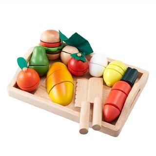 【新品未使用品】ままごといっぱいセット(知育玩具)