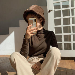 nokcha fur hat brown