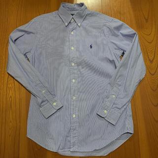 Ralph Lauren - POLO ラルフローレン シャツ ブルー ネイビー ホワイト 白 シャツ